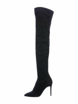 Barneys New York Sock Boots Black
