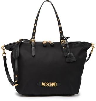 Moschino Nylon Signature Tote Bag
