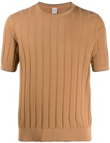 Eleventy ribbed knitted top