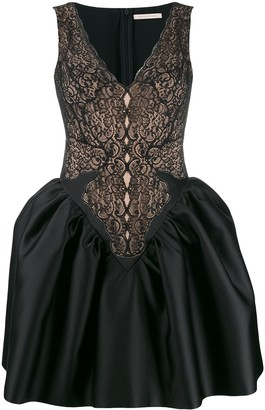 Christopher Kane Cupcake Lace Mini Dress