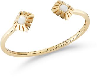 Miseno Vesuvio 18k Yellow Gold Mother-of-Pearl Split Bracelet