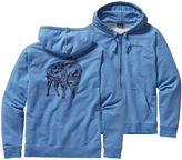 Patagonia Men's Illustrated Buffalo Midweight Full-Zip Hooded Sweatshirt