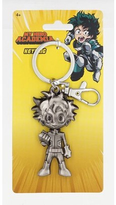 Monogram My Hero Academia Deku Figure Pewter Key Ring