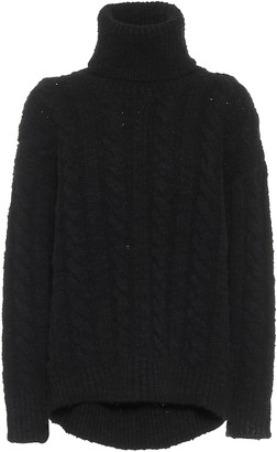 Dolce & Gabbana Cable-knit wool and cashmere sweater