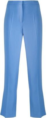 Piazza Sempione Cropped Bootcut Stretch Trousers