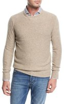 Isaia Cable-Knit Cashmere Sweater