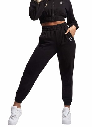 Gym King Women Boyfriend Jogger Clothing Casual Fashion Sport Style WTB-B23LL New (8 / S/Waist 64-66 cm) Black