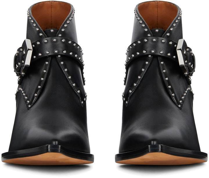 Givenchy Elegant Studs Pointy Toe Boot