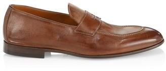 Brunello Cucinelli Flex Leather Penny Loafers