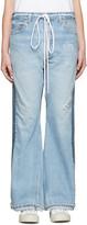 Off-White SSENSE Exclusive Indigo Arrow Straight Join Jeans