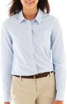 Arizona Long-Sleeve Button-Front Uniform Shirt
