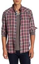 Lucky Brand Santa Fe Plaid Long Sleeve Regular Fit Shirt