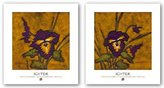"""Rob-ert Image Conscious Sweet November Set by Robert John Ichter 10""""x10"""" Art Print Poster"""