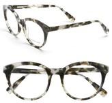 Derek Lam Women's 51Mm Optical Glasses - Brown Stripes