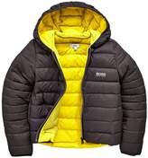 BOSS Contrast Puffer Jacket