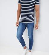 Noak Skinny Jeans In Dark Blue Wash