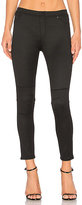 ATM Anthony Thomas Melillo 5 Pocket Moto Legging in Black