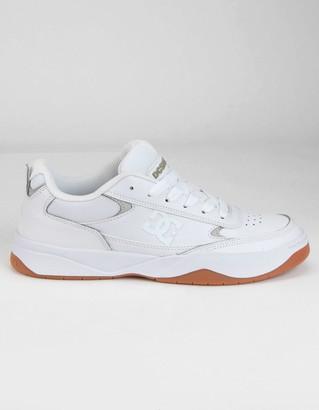 DC Penza Mens White Shoes