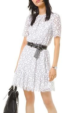 MICHAEL Michael Kors Fringed Lace Dress