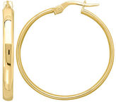 Lord & Taylor 14Kt. Yellow Gold Round Hoop Earrings