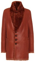 Joseph Leather and shearling coat