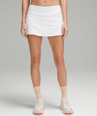 Lululemon Pace Rival Mid Rise Skirt