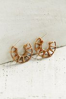 Urban Outfitters Better Late Than Never Minor Arc Hoop Earring
