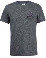 Burton Mens Navy Blue Grindle Chest Graphic T-Shirt