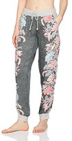 PJ Salvage Women's Eastern Influence Floral Jogger Pant