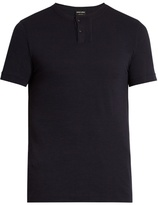 Giorgio Armani Slim-fit wool T-shirt