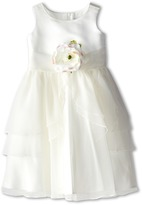 Us Angels Tank Top Dress w/ Layers of Organza Skirt Girl's Dress