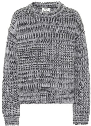 Acne Studios Mohair and wool-blend sweater