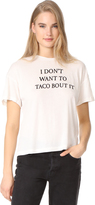 Wildfox Couture Taco Talk Sonic Tee