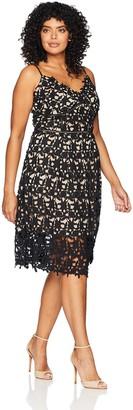 City Chic Women's Apparel Women's Plus Size Dress SO Fancy