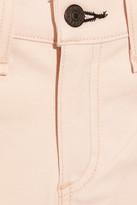 Rag and Bone Rag & bone JEAN Contrast-stripe mid-rise skinny jeans
