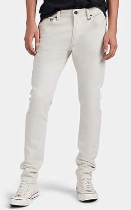 John Varvatos Men's Chelsea Selvedge Denim Slim Jeans - White