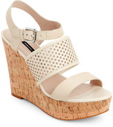 French Connection Barley Devi Open Toe Platform Wedge Sandals