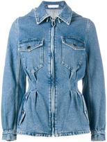 J.W.Anderson tailored denim jacket - women - Cotton - 10