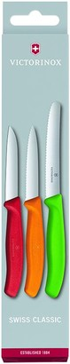 Victorinox Swiss Classic Paring Knife Set, Set of 3, L11cm