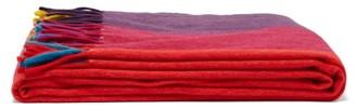 Begg & Co. - Festival Striped Wool-blend Blanket - Multi