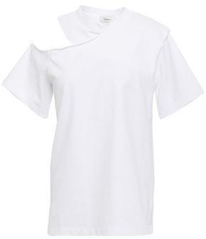 GOEN.J Cutout Cotton-jersey T-shirt