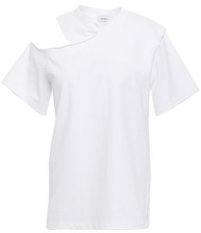GOEN.J Cutout Cotton-jersey T-shirt