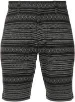 Kazuyuki Kumagai tribal print shorts