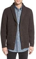 Pendleton Men's Lambswool Blend Shawl Collar Cardigan