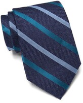 Thumbnail for your product : Nordstrom Wayne Stripe Print Silk Tie