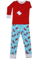 New Jammies Boys Unisex 2Pc Winter Fox Lounge Set