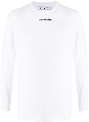 Off-White Arrows long-sleeves T-shirt