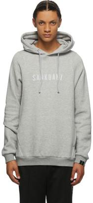 Sankuanz Grey Logo Hoodie