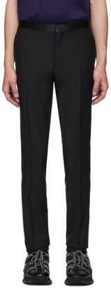 Lanvin Black Suit Trousers
