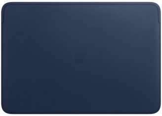 Apple Leather Sleeve for 16-inch MacBook Pro Ai Midnight Blue